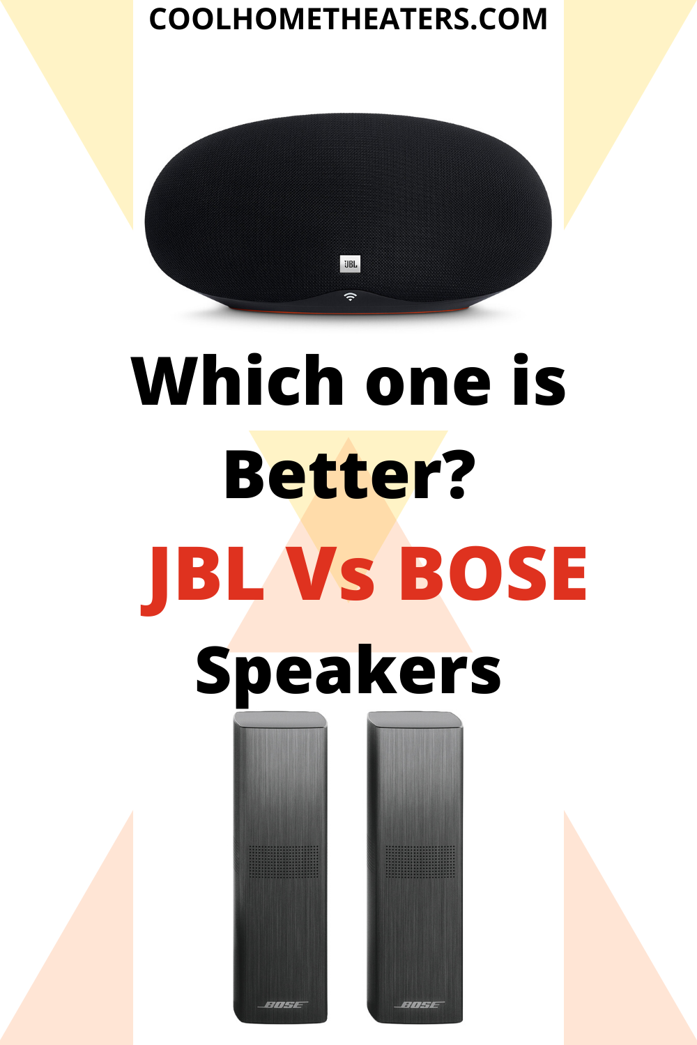JBL Vs Bose| Which Bluetooth Speaker Is The Best to Use?