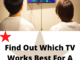 Find out which TV works Best For a PS5