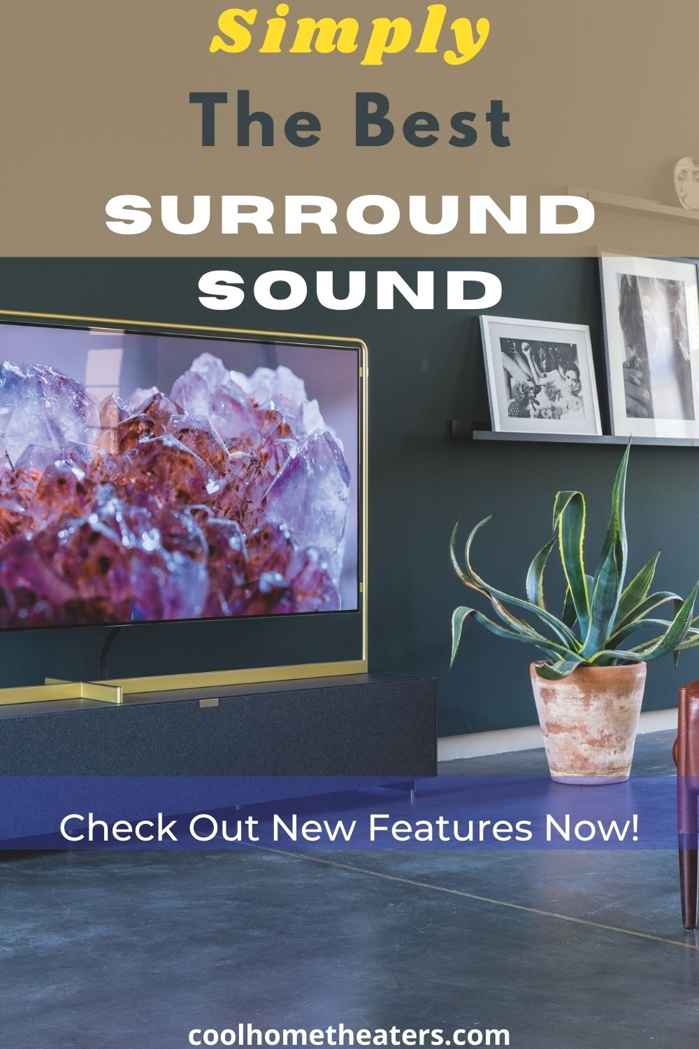 Simply the Best Home Theater Speaker System